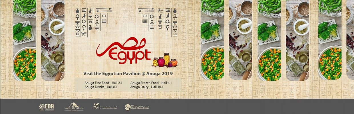 From October 5-9, almost 100 Egyptian companies await your visit at the Cologne Food Exhibition